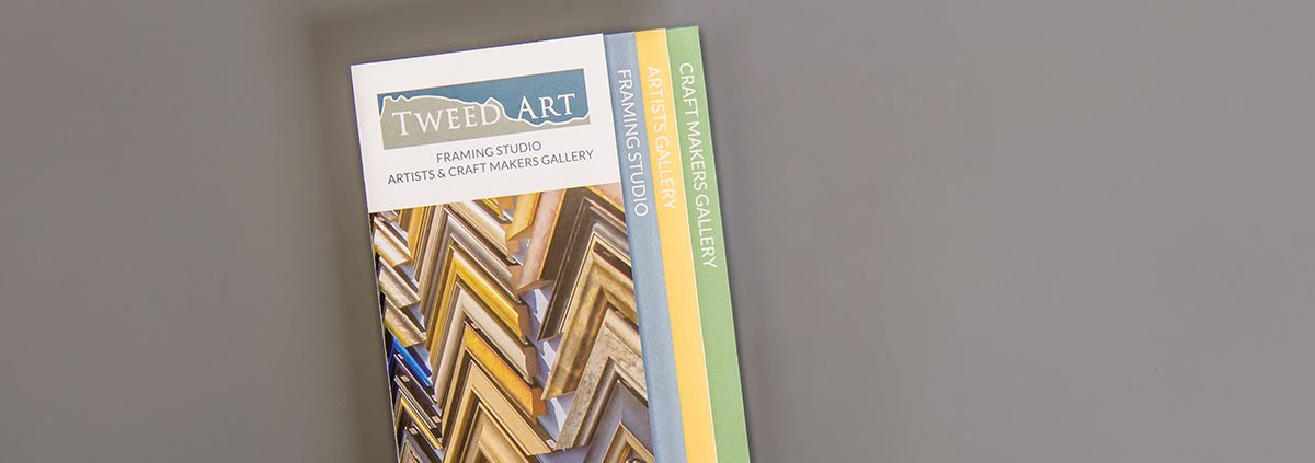Tweed Art leaflet