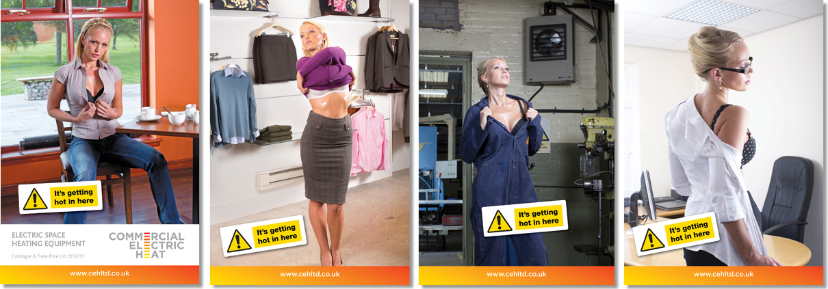 Commercial Electric Heat marketing campaign