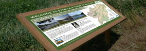Ettrick & Yarrow Valleys interpretation boards