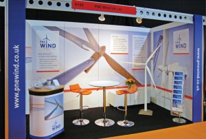 PNE Wind UK - Exhibition Stand