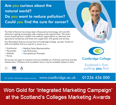 Coatbridge College - Integrated Marketing Campaign
