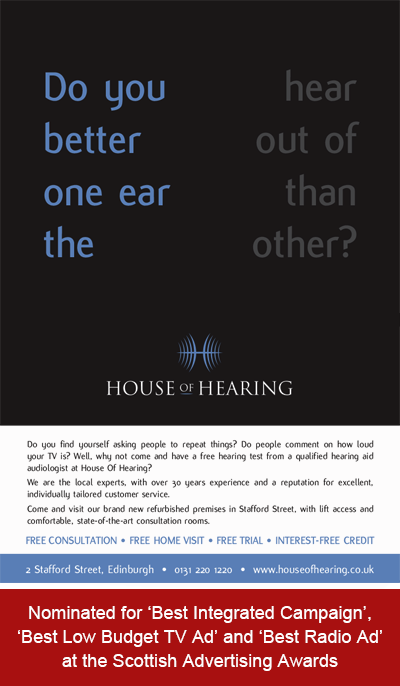 House of Hearing - Integrated Advertising Campaign