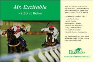 Kelso Races advertising