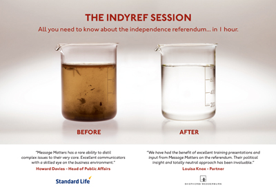 Message Matters IndyRef Session