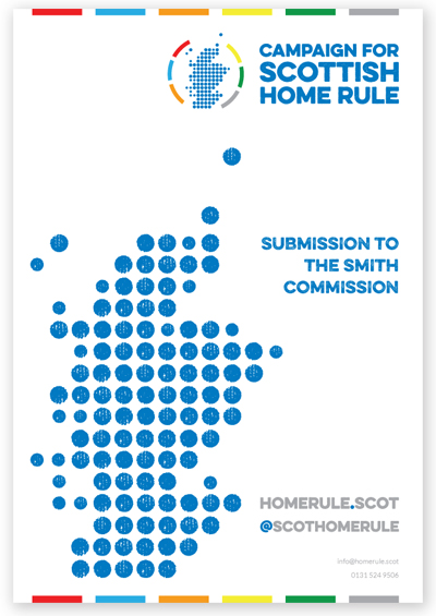 Campaign for Scottish Home Rule submission
