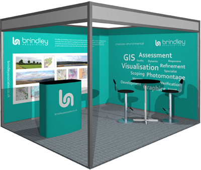 Brindley - All Energy exhibition stand