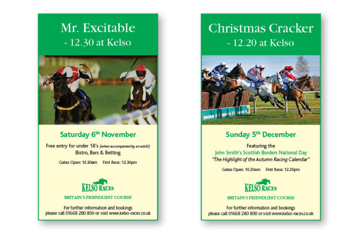 Advertising: Kelso Races - Regional press