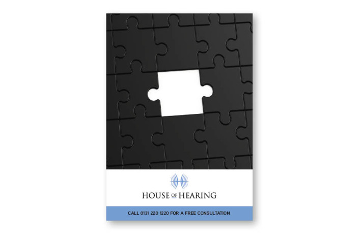Advertising: House of Hearing - 12 sheet poster