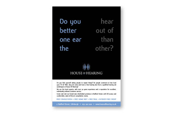 Advertising: House of Hearing