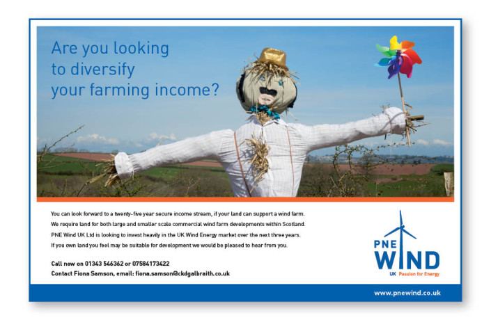 Advertising: PNE Wind UK - Scottish Farmer