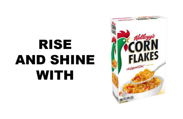 Endlines: Kellogg's Corn Flakes - Rise and shine