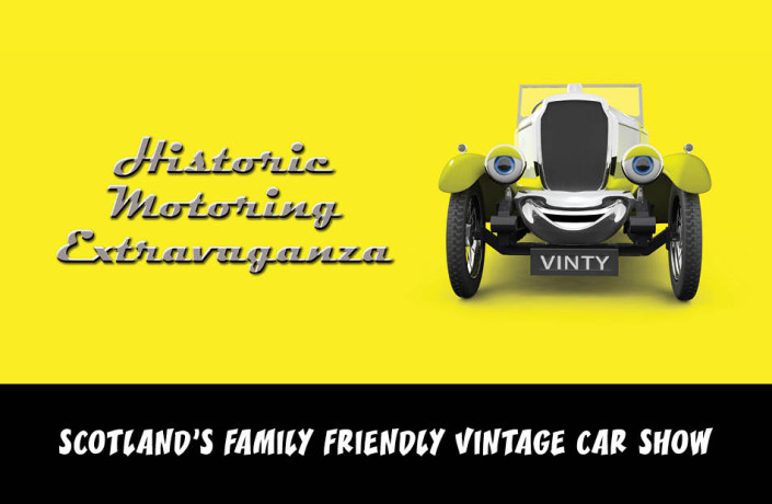 Endlines: BVAC Historic Motoring Extravaganza - Scotland's family friendly vintage car show
