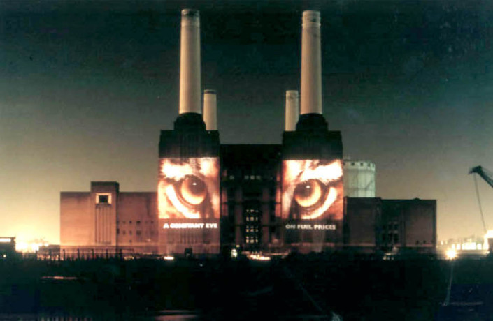 Events & Exhibitions: Esso - Building projection