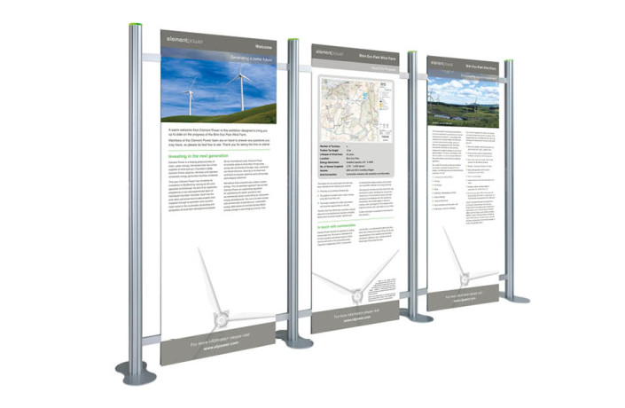 Exhibitions & Events: Element Power - Wind farm proposal public consultation