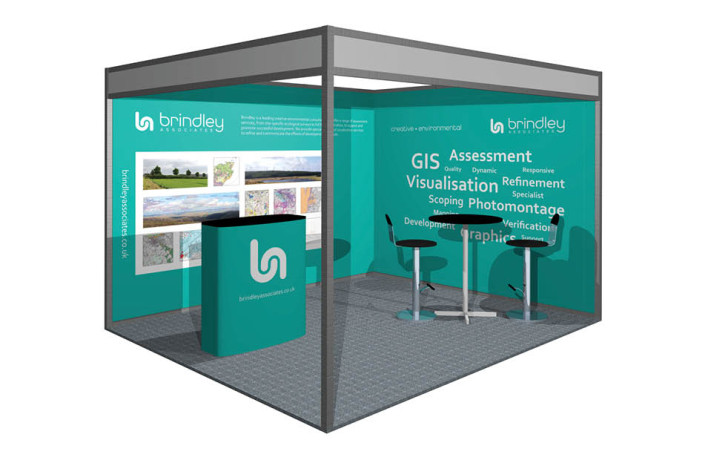 Events & Exhibitions: Brindley Associates - All Energy exhibition stand
