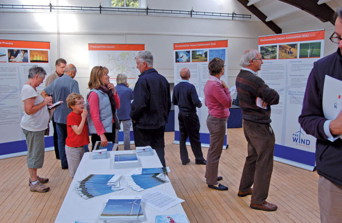 Exhibitions & Events: PNE Wind UK - Wind farm proposal public consultation