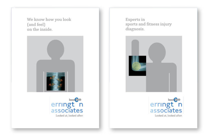 Graphic Design: Errington Associates - Marketing literature