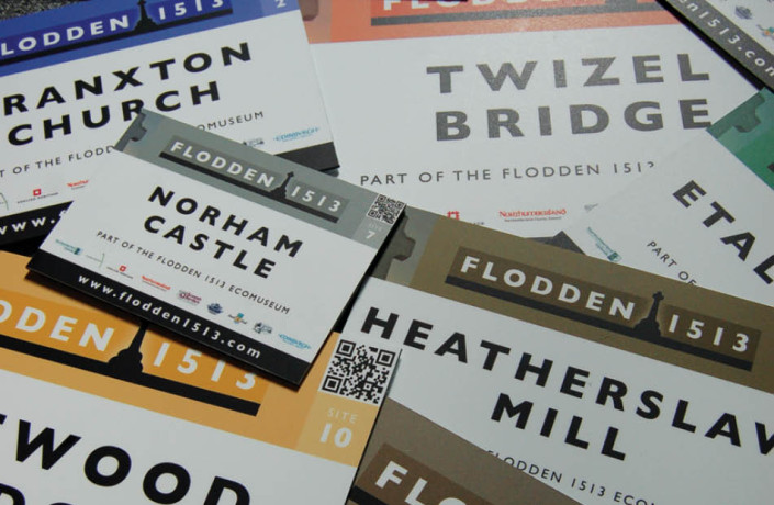 Graphic Design: Flodden 1513 - Site signage