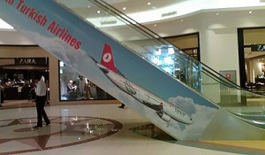 Turkish Airlines Ad Placement Fail
