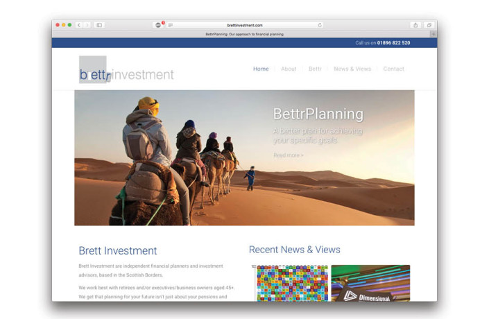 Web Design: Brett Investment