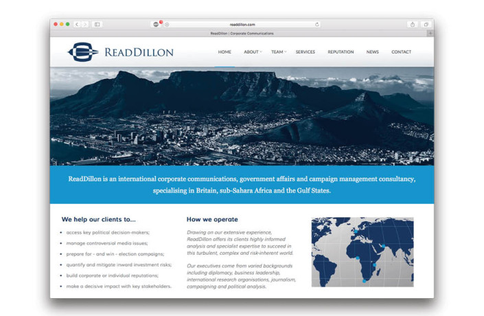 Web Design: ReadDillon
