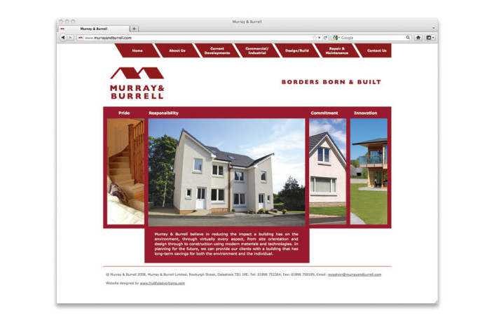 Web Design: Murray & Burrell