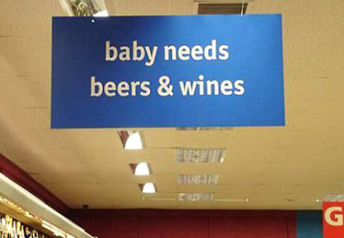 Supermarket design fail