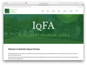 Charlotte Square Partners - Website
