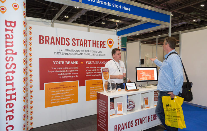 Exhibitions & Events: Brands Start Here - Business Startup exhibition