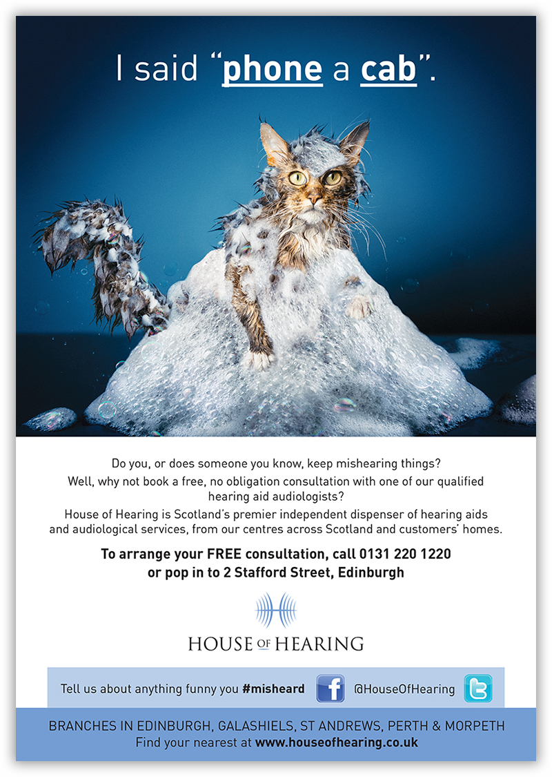 House of Hearing advertising