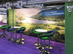 National Trust for Scotland - Exhibition Stand