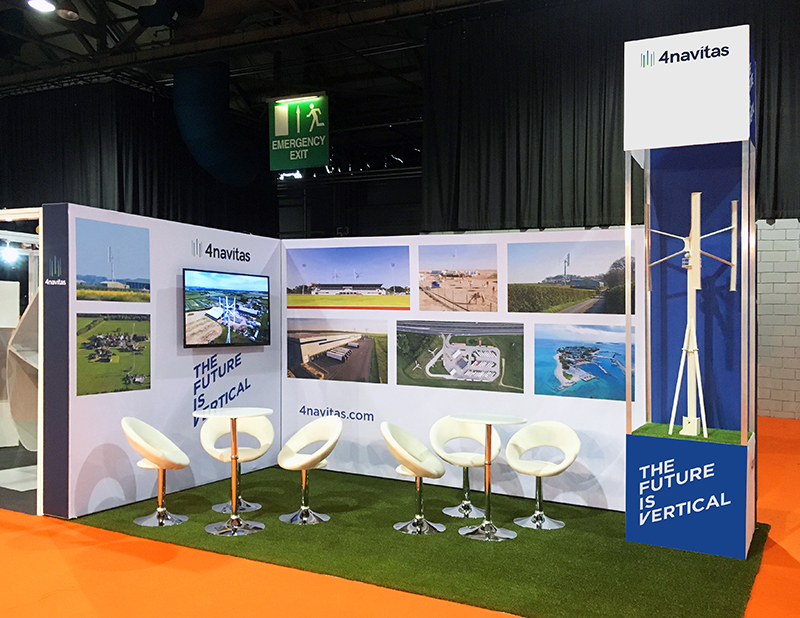 4Navitas All Energy exhibition stand