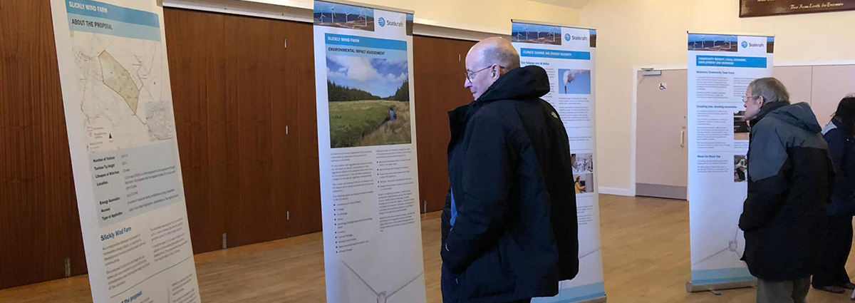 Statkraft Wind Farm Development Public Consultation