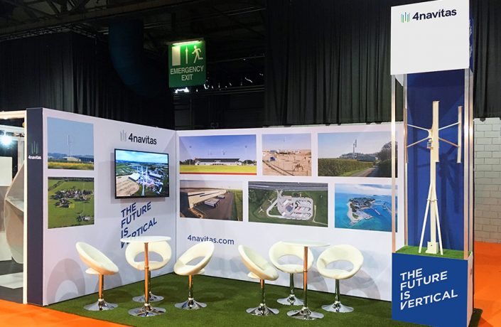Exhibitions & Events: 4Navitas All Energy exhibition stand
