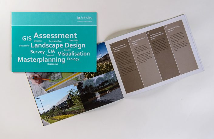 Graphic Design: Brindley Associates corporate brochure