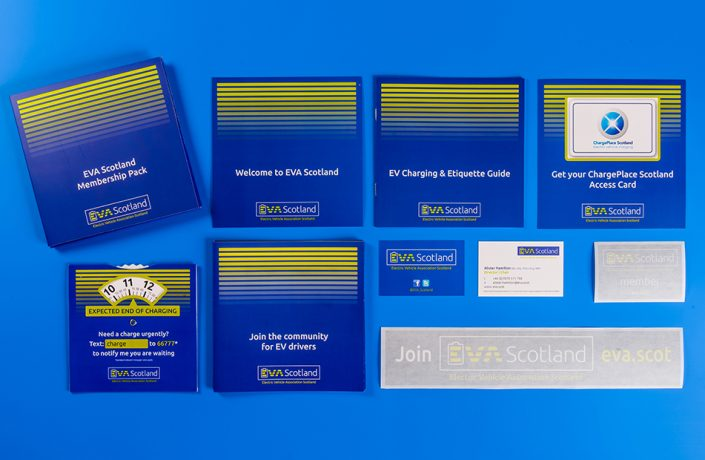 Graphic Design: EVA Scotland membership pack