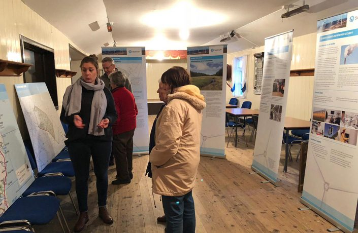 Exhibitions & Events: Statkraft Wind farm development public consultant