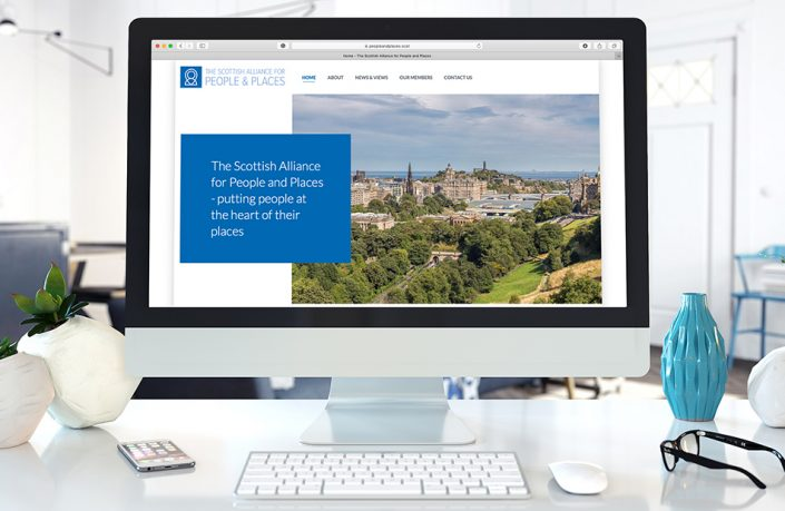 Web Design: Scottish Alliance of People & Places