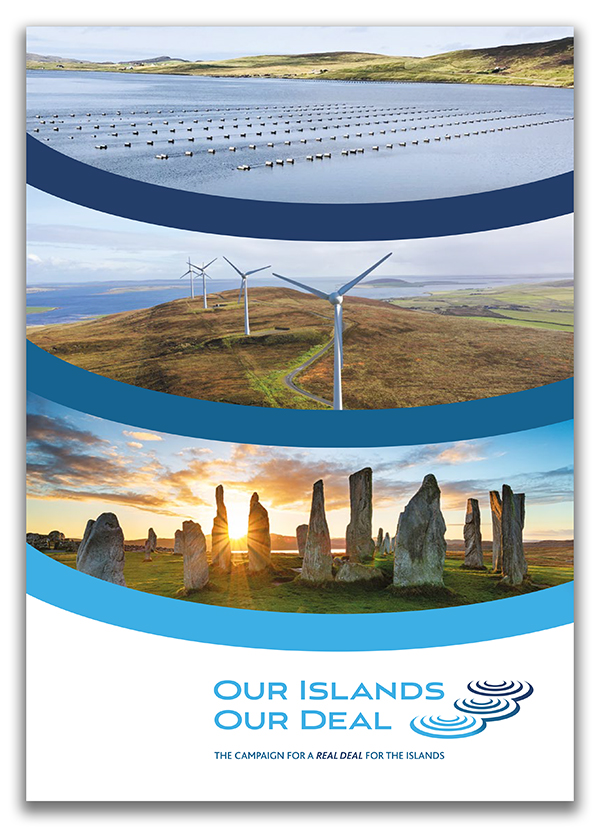 Our Islands Our Deal document - front cover