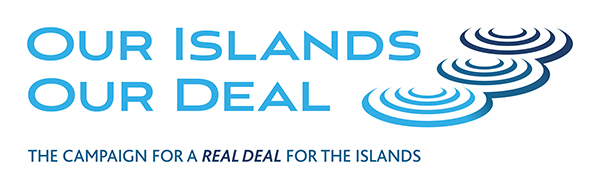 Our Islands Our Deal brand identity